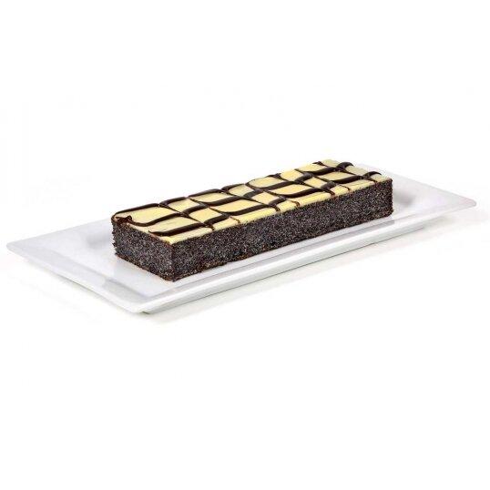 עוגת פס פרג שוקולד לבן