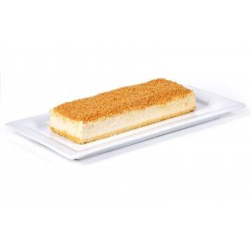עוגת פס גבינה אפויה ושטרוייזל