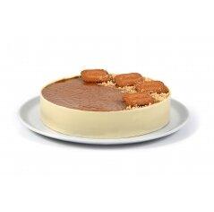 עוגת מוס לוטוס חלבי